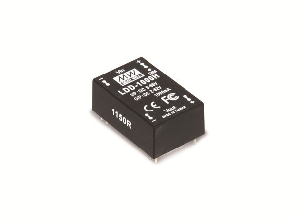LED-Konstantstromquelle MEANWELL LDD-500H, 500 mA