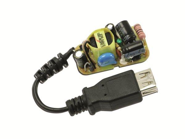 Schaltnetzteil mit USB-A-Ausgang SUNNY NE1000, 5 V-/0,3 A - Produktbild 1