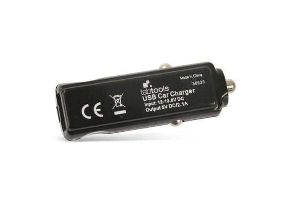 KFZ USB-Lader TABTOOLS, 5 V-/2,1 A - Produktbild 3