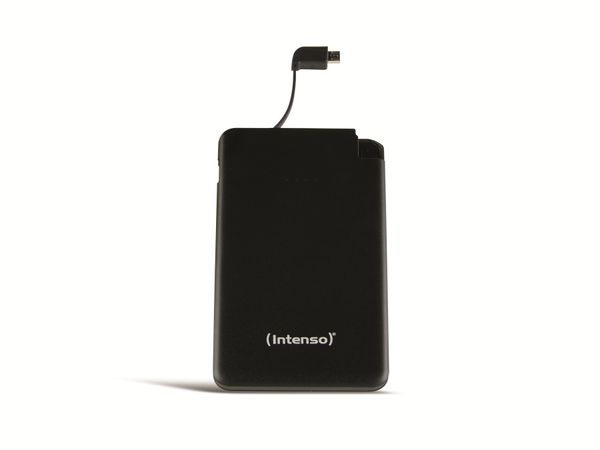 USB Powerbank INTENSO 7332520 Slim S5000, 5000 mAh, schwarz - Produktbild 1