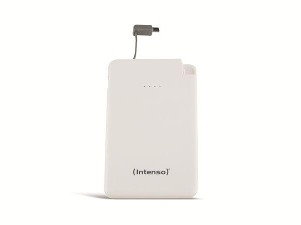 USB Powerbank INTENSO 7332522 Slim S5000, 5000 mAh, weiß - Produktbild 1