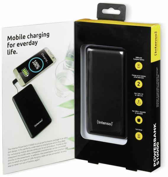 USB Powerbank INTENSO 7332530 Slim S10000, 10000 mAh, schwarz - Produktbild 3