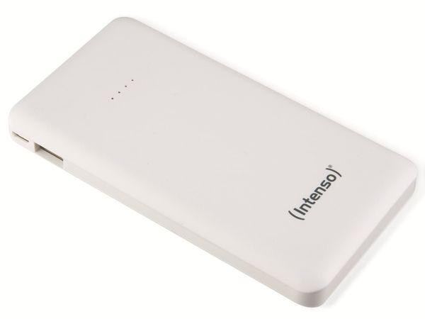 USB Powerbank INTENSO 7332532 Slim S10000, 10000 mAh, weiß