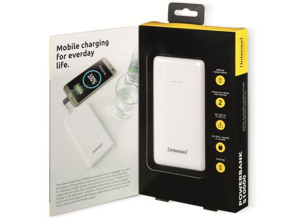 USB Powerbank INTENSO 7332532 Slim S10000, 10000 mAh, weiß - Produktbild 3