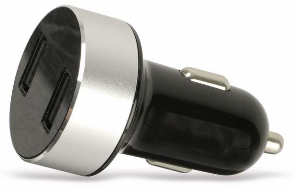 Dual KFZ USB-Lader mit Display QUATPOWER KUL2-5/3.4A, 5 V-/3,4 A - Produktbild 2