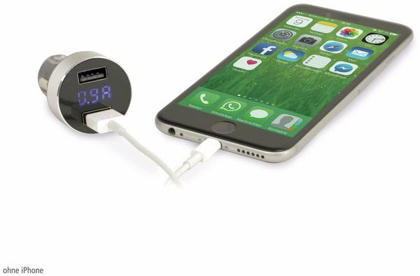 Dual KFZ USB-Lader mit Display QUATPOWER KUL2-5/3.4A, 5 V-/3,4 A - Produktbild 5