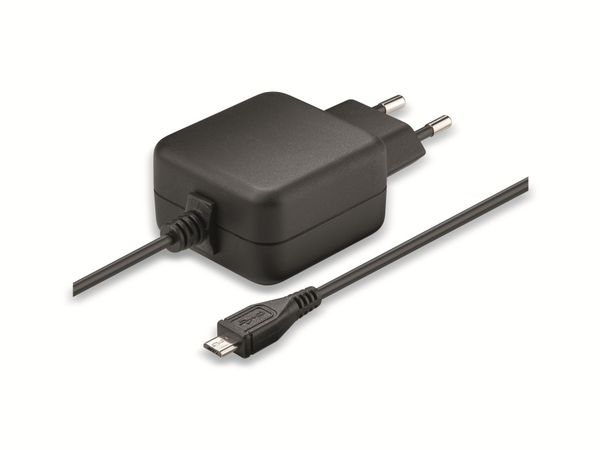 Steckernetzteil GOOBAY 71889, 5 V-/2,5 A, Micro-USB