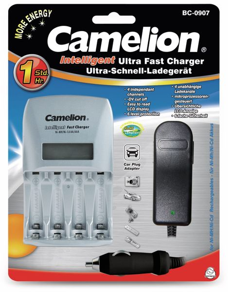 Ladegerät Camelion BC-0907 - Produktbild 2