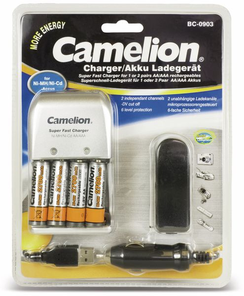Ladegerät Camelion BC-0903 - Produktbild 1