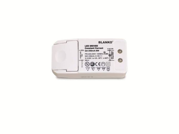 LED-Schaltnetzteil, 350 mA, 9...18 V-, 6 W - Produktbild 2