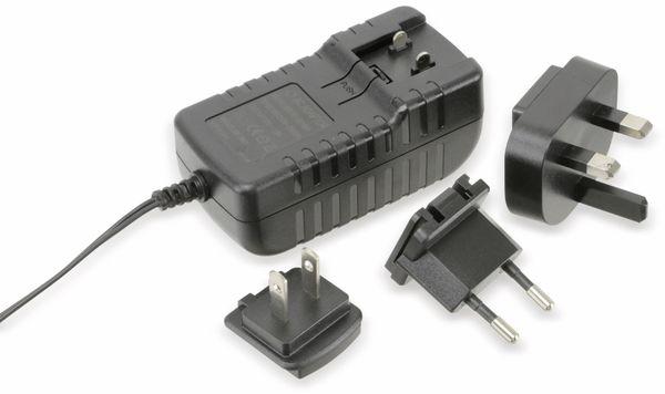 Stecker-Schaltnetzteil, 12V-/1,8 A, 5,5/2,1 mm - Produktbild 1