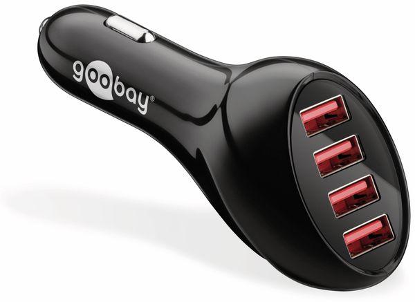 KFZ USB-Lader GOOBAY 71818, 4-fach, 5 V-/max. 10 A - Produktbild 1