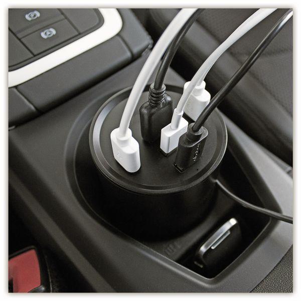 USB-Lader GOOBAY 58846, KFZ, Cup Holder, 10 A, 50 W, 12/24 V - Produktbild 5