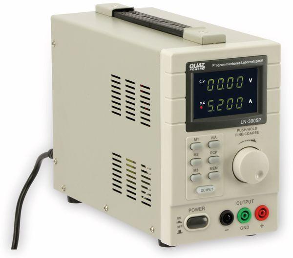 Programmierbares Netzgerät mit USB-Interface QUATPOWER LN-3005P, 30 V-/5 A