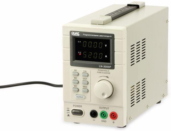 Programmierbares Netzgerät mit USB-Interface QUATPOWER LN-3005P, 30 V-/5 A - Produktbild 2