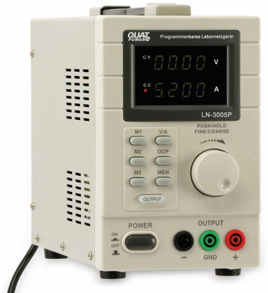 Programmierbares Netzgerät mit USB-Interface QUATPOWER LN-3005P, 30 V-/5 A - Produktbild 3