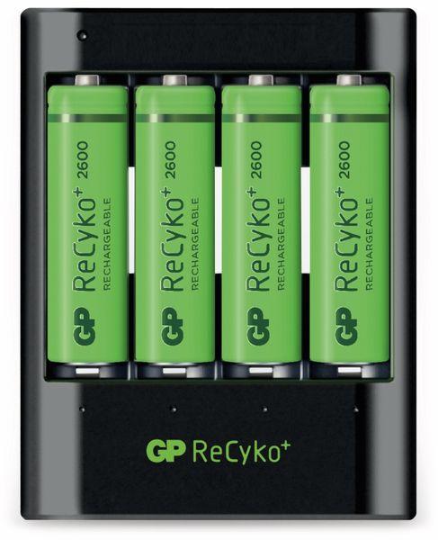 USB-Schnellladegerät GP PB421, inkl. 4 GP ReCyko+ Mignon-Akkus - Produktbild 1