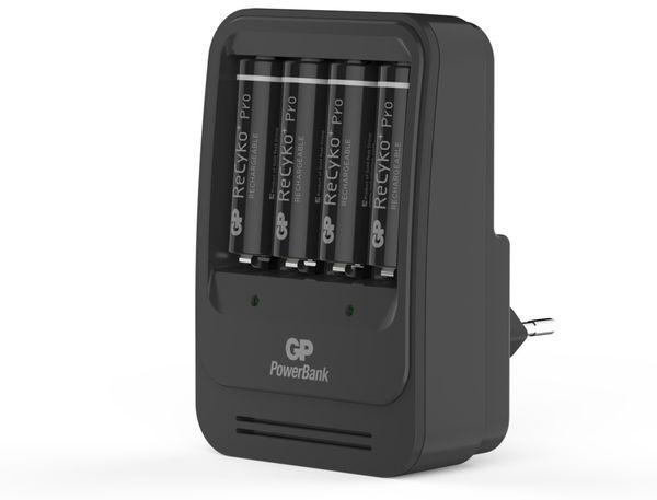 Ladegerät GP ReCyko+ Pro PB570, inkl. 4 Mignon-Akkus 2000 mAh - Produktbild 1