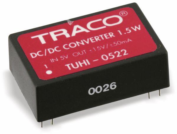 DC/DC Wandler TRACO POWER TUHI-0522, 1,5 W