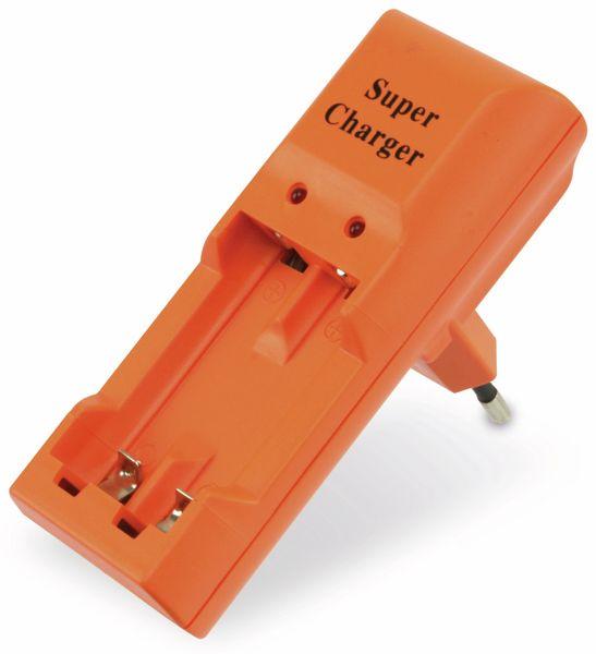 Steckerlader SUPER CHARGER KN-100, 2x AAA/AA - Produktbild 1