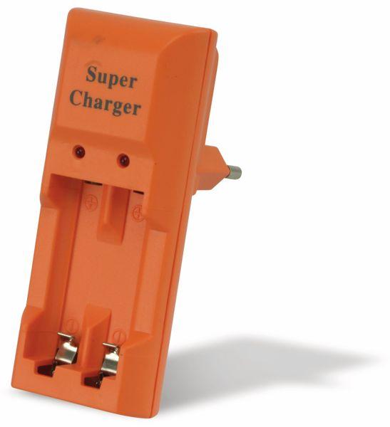 Steckerlader SUPER CHARGER KN-100, 2x AAA/AA - Produktbild 2