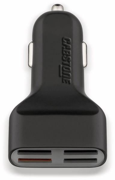 KFZ USB-Lader 4-Port, 5 V-/ 7,2 A, QC 3.0 Standard - Produktbild 1