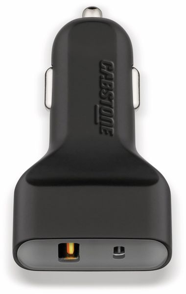 KFZ USB-Lader 2-Port, 5 V-/ 6 A, QC 3.0 Standard - Produktbild 1