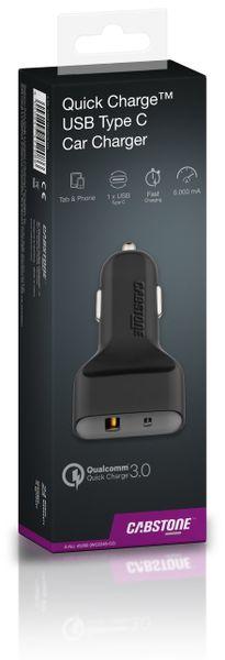 KFZ USB-Lader 2-Port, 5 V-/ 6 A, QC 3.0 Standard - Produktbild 3