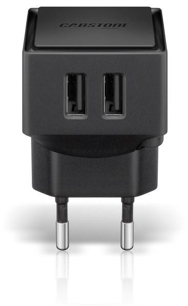 Dual USB-Ladeadapter 3,4A für Steckdosen - Produktbild 1