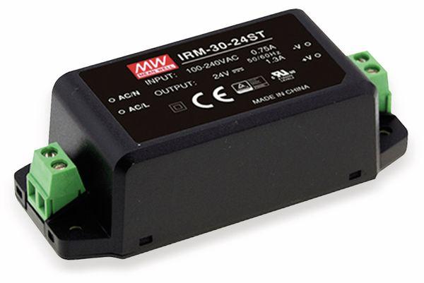 AC/DC-Printnetzteil MEANWELL IRM-30-48ST, 48 V-/0,63 A, 30,2 W