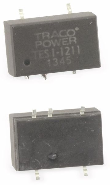 DC/DC Wandler TRACO POWER TES11211-TR, In: 12 V-, Out: 5 V-, 0,2A