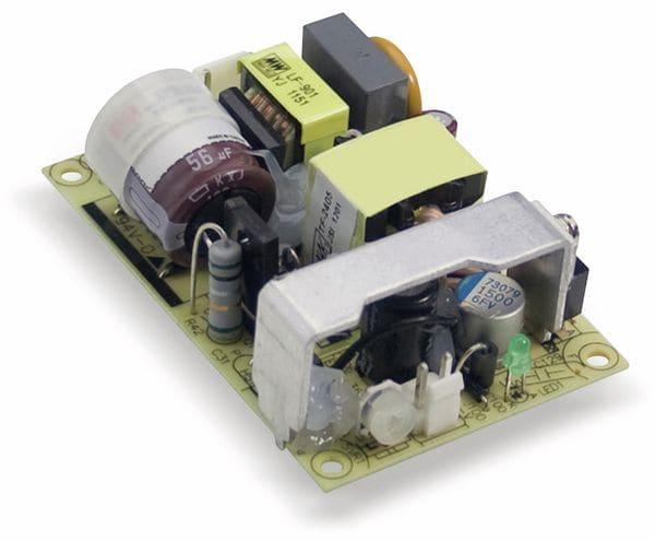 Schaltnetzteil MEANWELL EPS-25-12, 12 V-/2,1 A