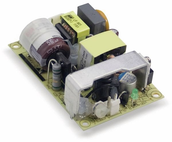 Schaltnetzteil MEANWELL EPS-25-48, 48 V-/0,53 A