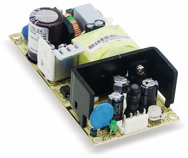 Schaltnetzteil MEANWELL EPS-45-12, 12 V-/3,75 A