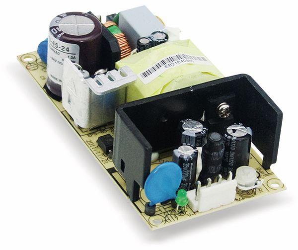 Schaltnetzteil MEANWELL EPS-45-15, 15 V-/3 A