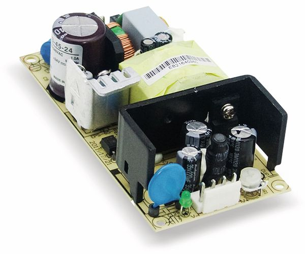 Schaltnetzteil MEANWELL EPS-45-24, 24 V-/1,9 A
