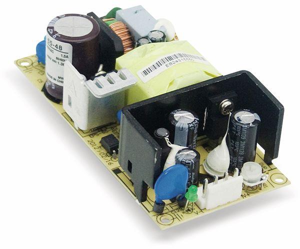 Schaltnetzteil MEANWELL EPS-65-7.5, 7,5 V-/8 A