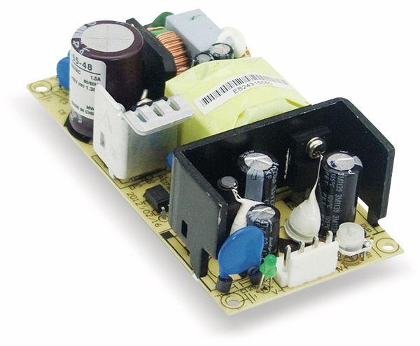 Schaltnetzteil MEANWELL EPS-65-12, 12 V-/5,42 A