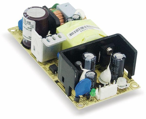 Schaltnetzteil MEANWELL EPS-65-24, 24 V-/2,71 A