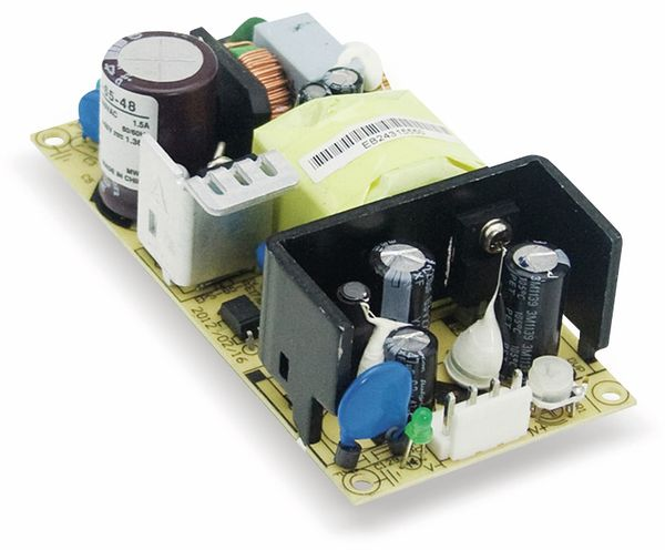 Schaltnetzteil MEANWELL EPS-65-48, 48 V-/1,36 A