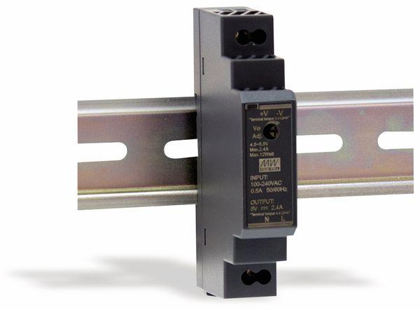 Hutschienen-Schaltnetzteil MEANWELL HDR-15-12, 12 V-/1,25 A