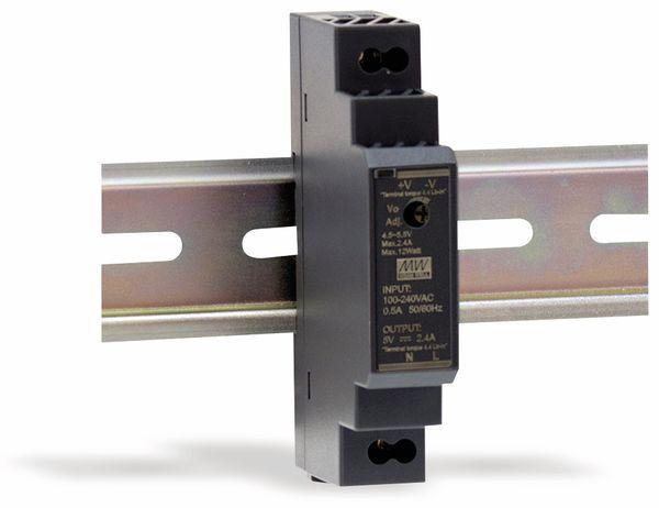 Hutschienen-Schaltnetzteil MEANWELL HDR-15-15, 15 V-/1 A