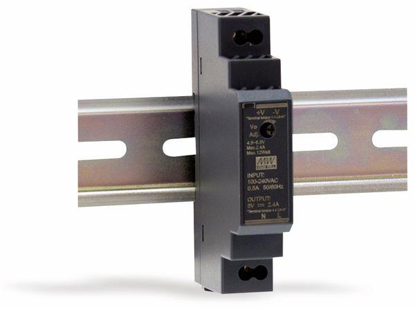 Hutschienen-Schaltnetzteil MEANWELL HDR-15-24, 24 V-/0,63 A