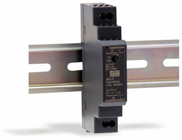 Hutschienen-Schaltnetzteil MEANWELL HDR-15-48, 48 V-/0,32 A