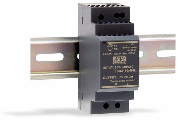 Hutschienen-Schaltnetzteil MEANWELL HDR-30-12, 12 V-/2 A