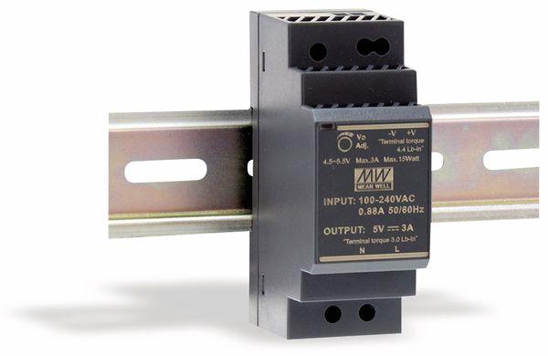 Hutschienen-Schaltnetzteil MEANWELL HDR-30-15, 15 V-/2 A