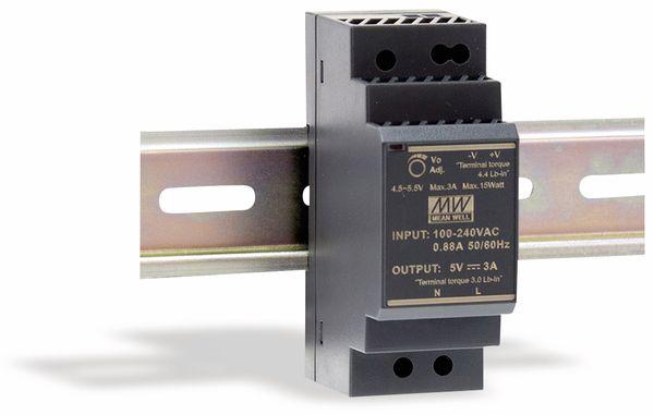 Hutschienen-Schaltnetzteil MEANWELL HDR-30-24, 24 V-/1,5 A