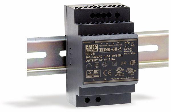 Hutschienen-Schaltnetzteil MEANWELL HDR-60-15, 15 V-/4 A