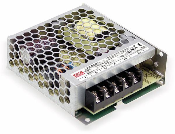 Schaltnetzteil MEANWELL LRS-50-5, 5 V/10 A