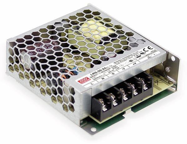 Schaltnetzteil MEANWELL LRS-50-15, 15 V/3,4 A
